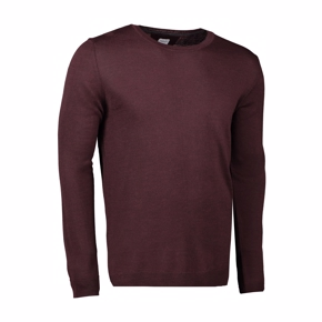 The Knit | Herre | Pullover | Bordeaux